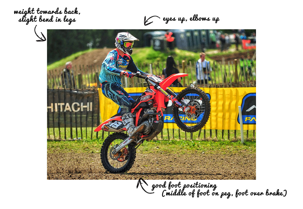 how to wheelie dirt bike 1