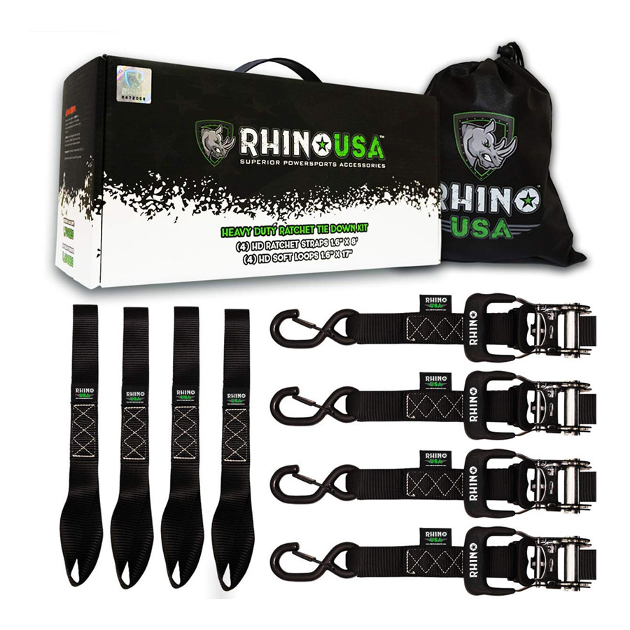 Rhino Ratchet Tie Down Straps