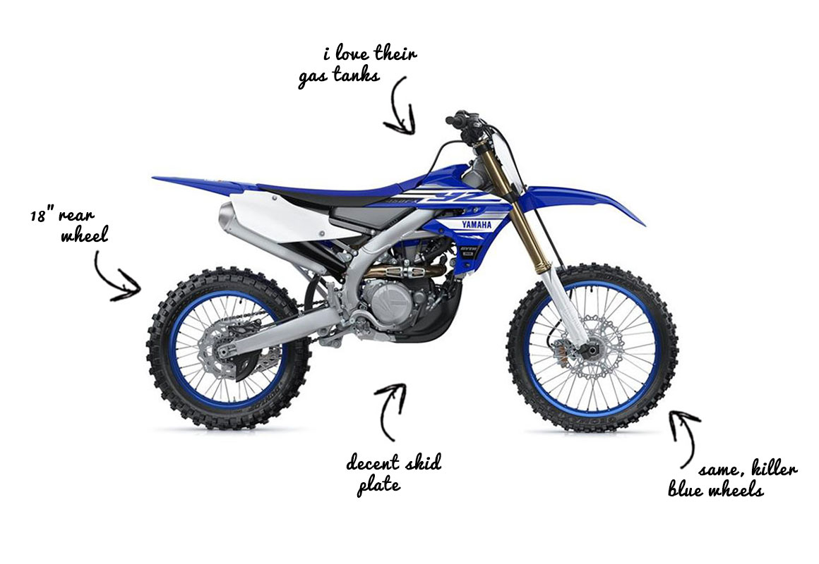 2019 Yamaha YZ450FX Dirt Bike