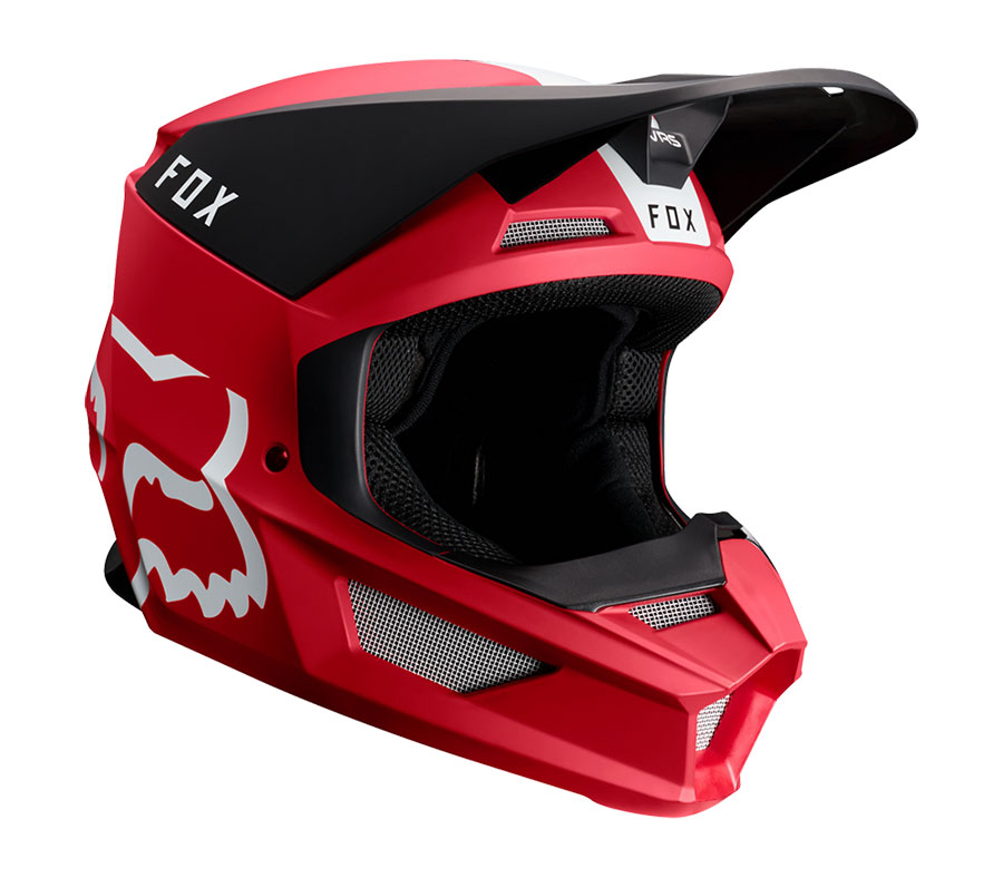 Fox V1 Helmet Red