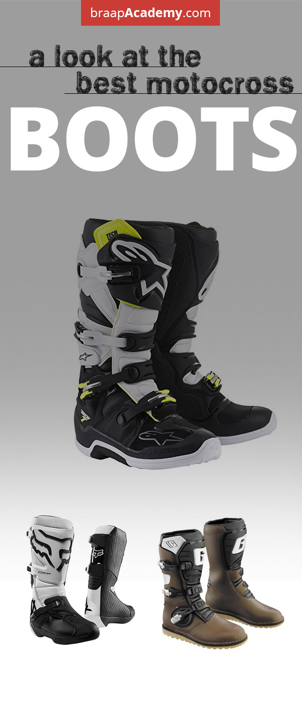 Best Motocross Boots - 2019 Top Choices Under  200 a64c670e173ee