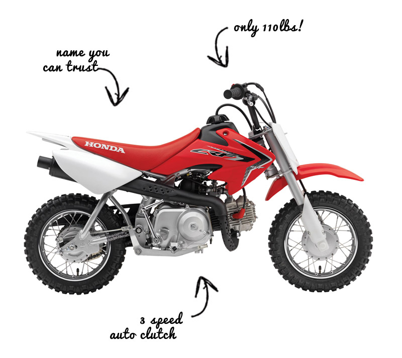 Honda 50cc Kids Dirt Bike